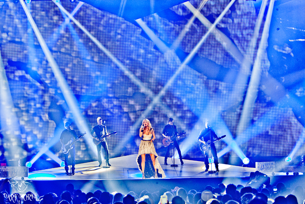 Carrie Underwood - Concert - photography - abbotsford