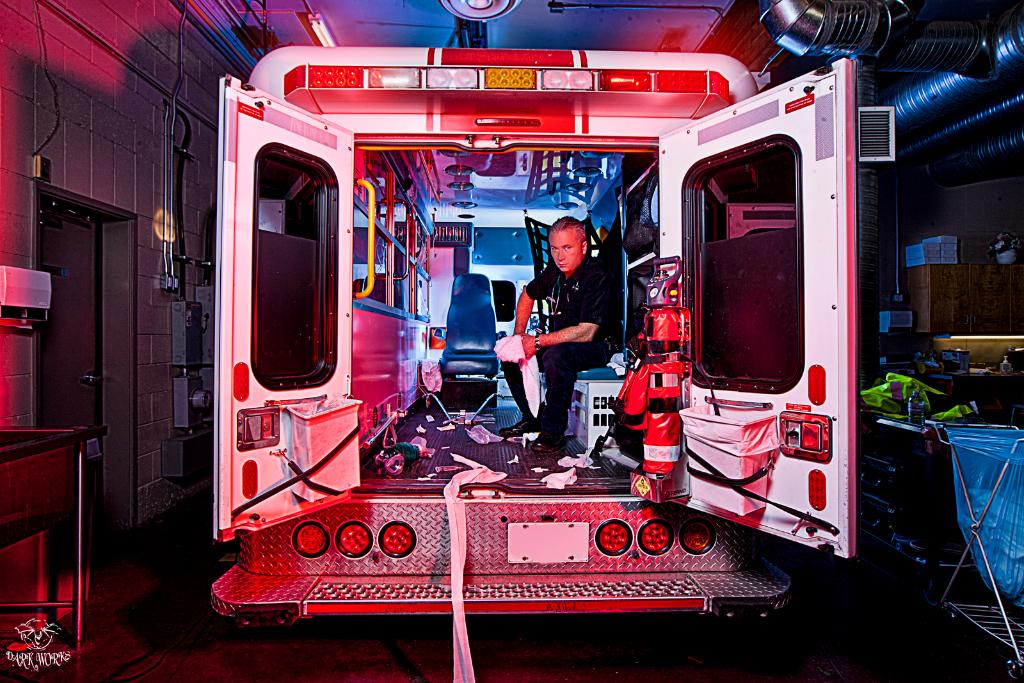 Phil - portrait - photography - ambulance - Paramedic