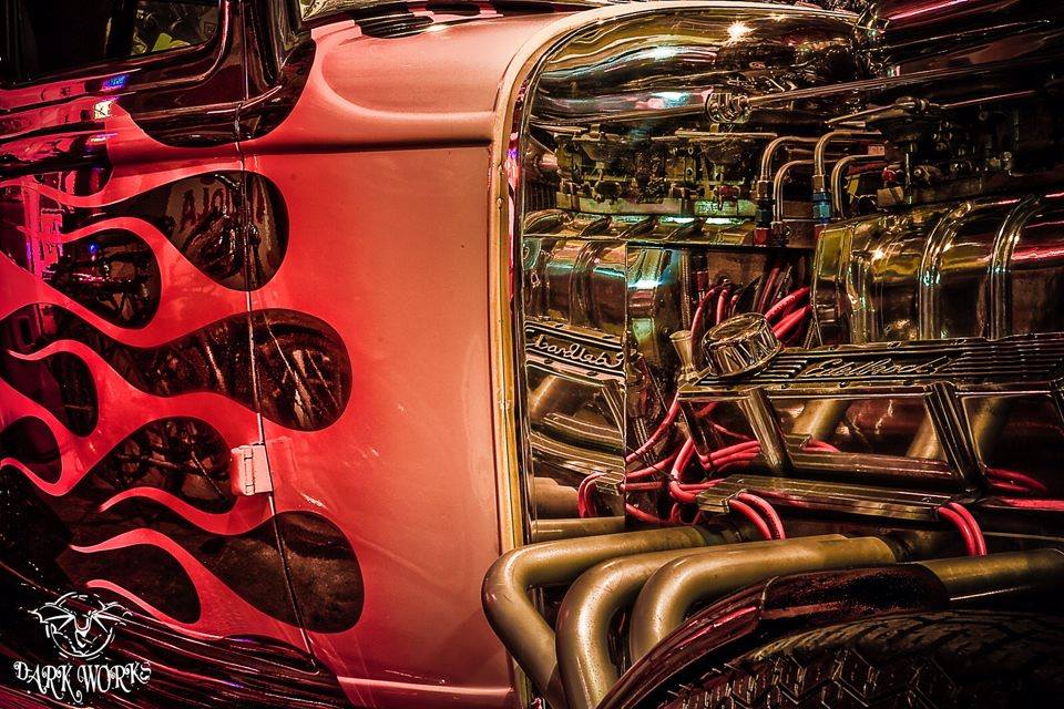 Car - Automotive - Hot Rod - Engine