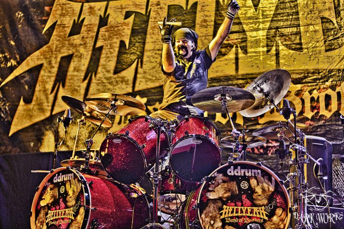 Vinnie Paul-Hellyeah - Abbotsford - Concert Photo