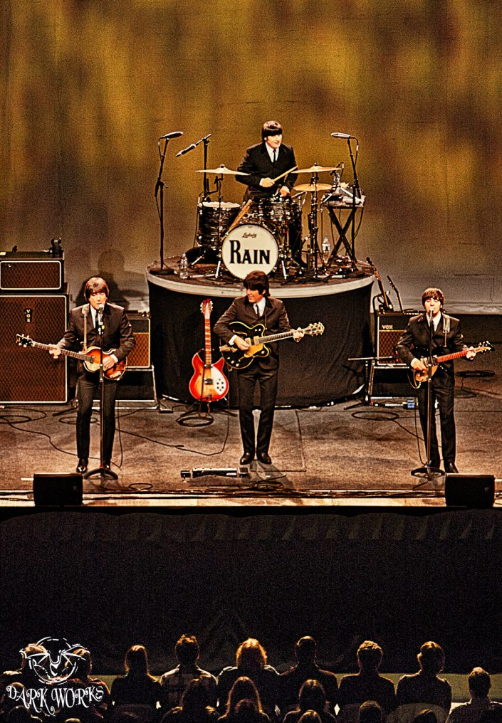 RAIN - concert - abbotsford - beatles