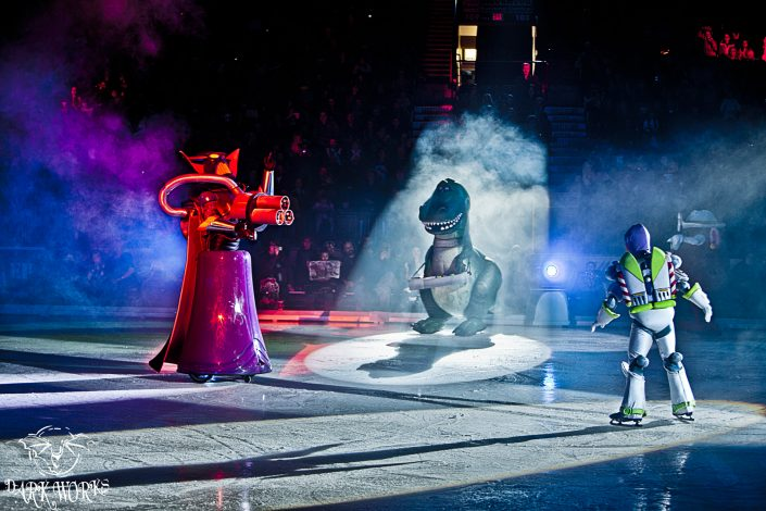 BUZZ vs ZURG showdown Abbotsford Ice Skating Event Photography