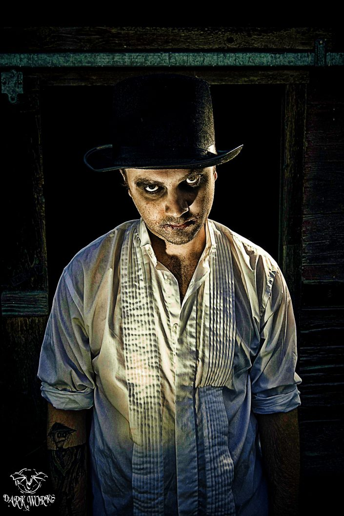 EVIL - scarecrow - tattoo - portrait- photography