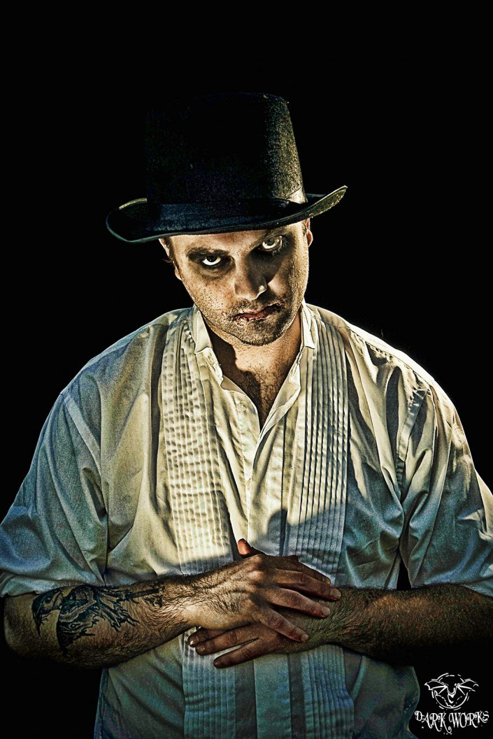 EVIL - scarecrow - tattoo - portrait- photography