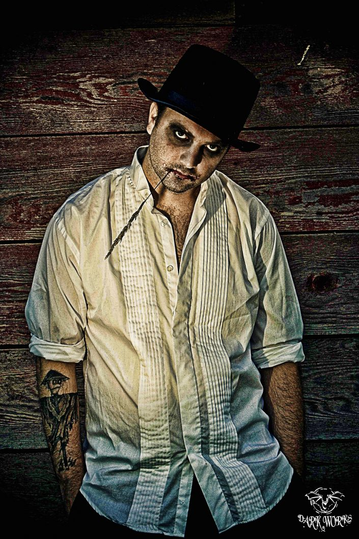 EVIL - scarecrow - tattoo - portrait - photography