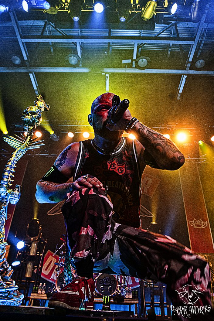 FIVE FINGER DEATH PUNCH - concert - photography - abbotsford