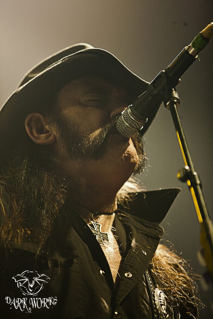MOTORHEAD-Lemmy - Concert - Photography - Abbotsford
