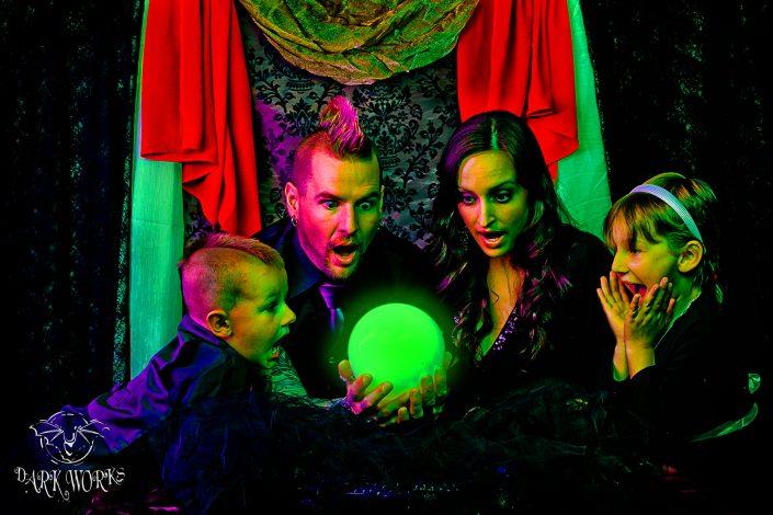 benedict family portrait photograph