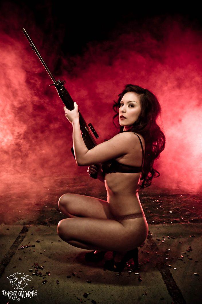 carolina Girls and Guns Model Photography