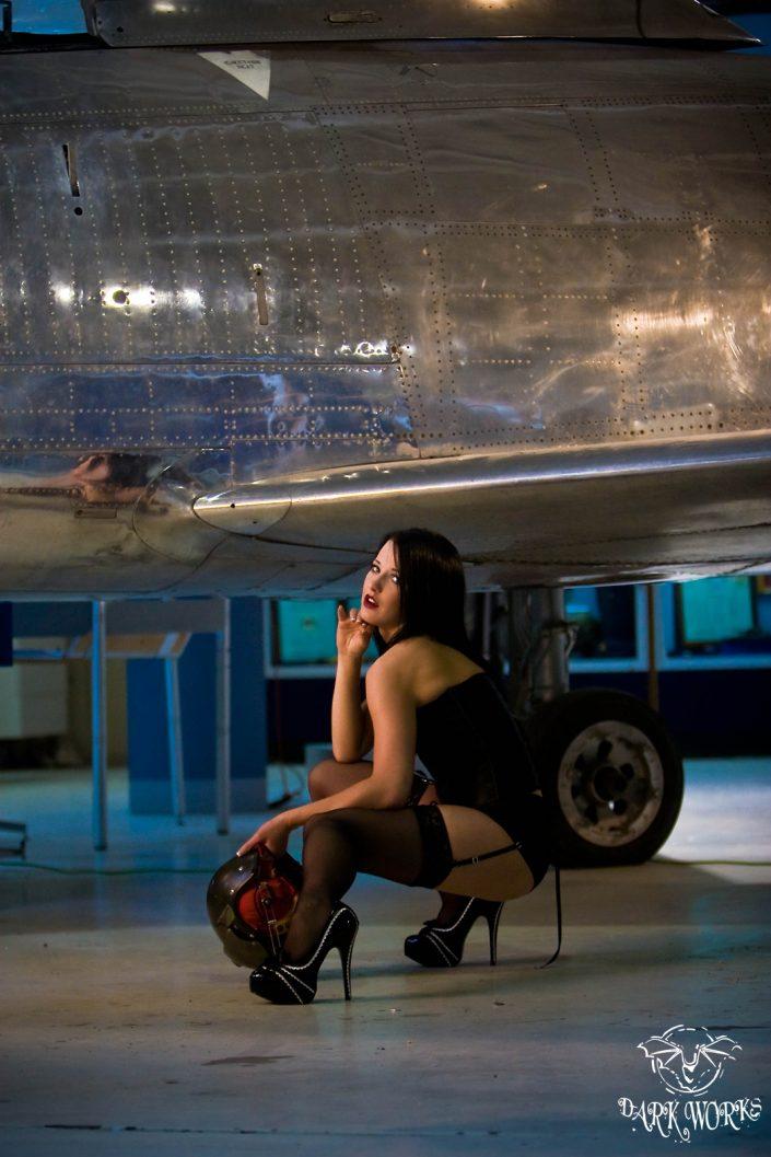 danica- airplane - model - pilot - aero