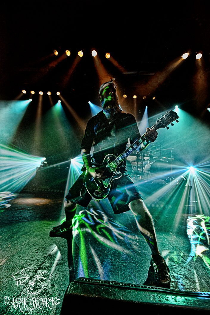 in flames - concert - abbotsford - photography