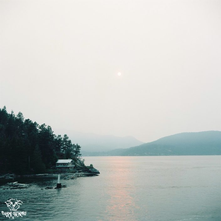 35mm - 120mm film - Horseshoe Bay - Ferry - Bowen Island - Trees - Ocean - Island - light house - mountains