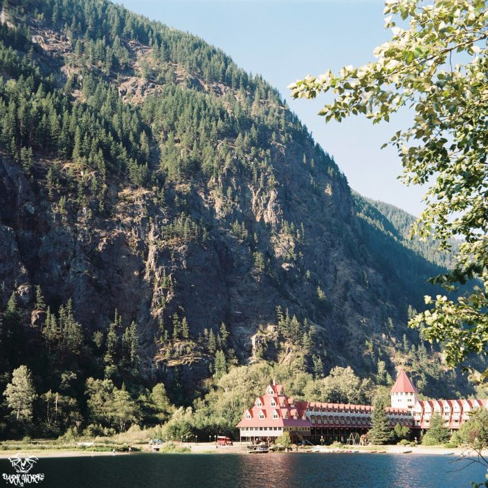 35mm - 120mm - Film - revelstoke - monashee mountains - ghost town - three valley lake chateau - Mountain - Sunrays - Banff - Alberta - Photography - hotel