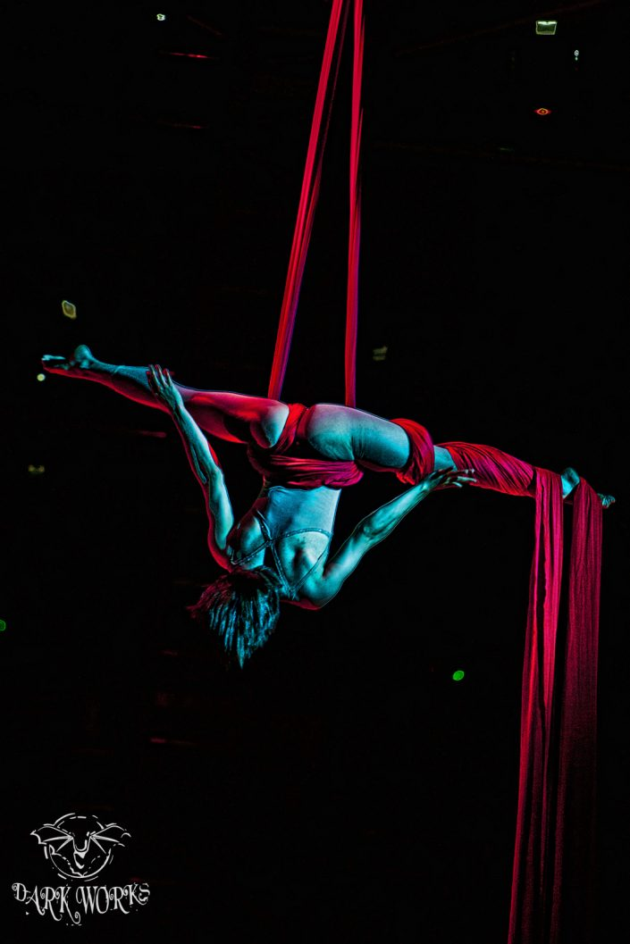 Silk Dancer Cirque Du Solie Abbotsford Event Photography