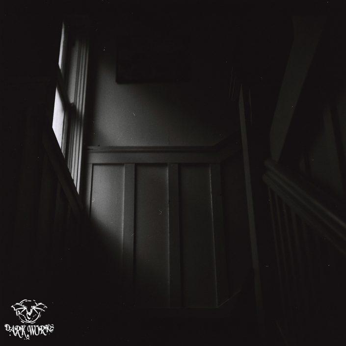 35mm - 120mm - film - vancouver - stairway