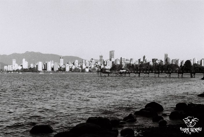 35mm - 120mm Film Photography Vancouver Dock Kitsilano Beach