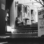 yann - emmerson drive - vancouver gastwon - black and white - portrait - photography