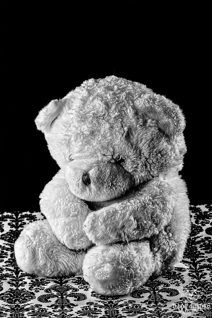 Muffin- teddy bear - childs best friend - stuffy